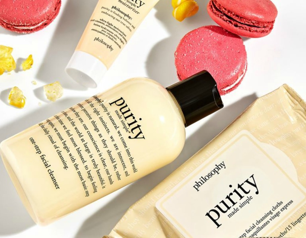 Philosophy purity made simple cleanser and wipes