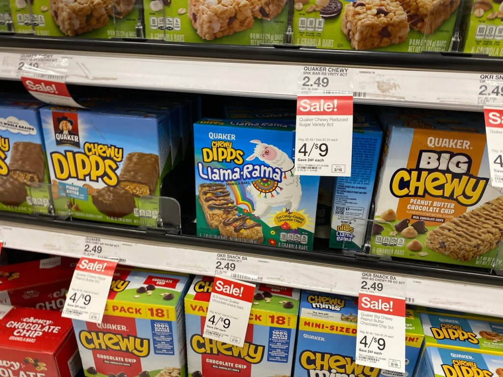 Quaker Chewy Dipps Target Sale