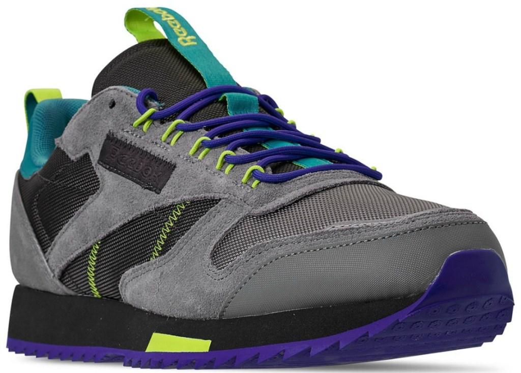 men's multicolored Reebok sneaker