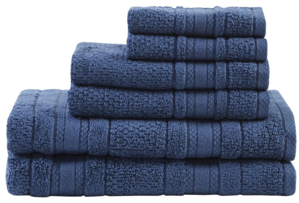 blue Remy Cotton Towels