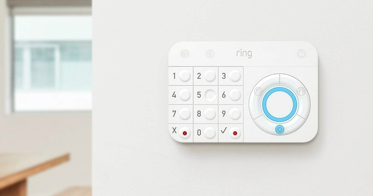 Ring Home Security key pad