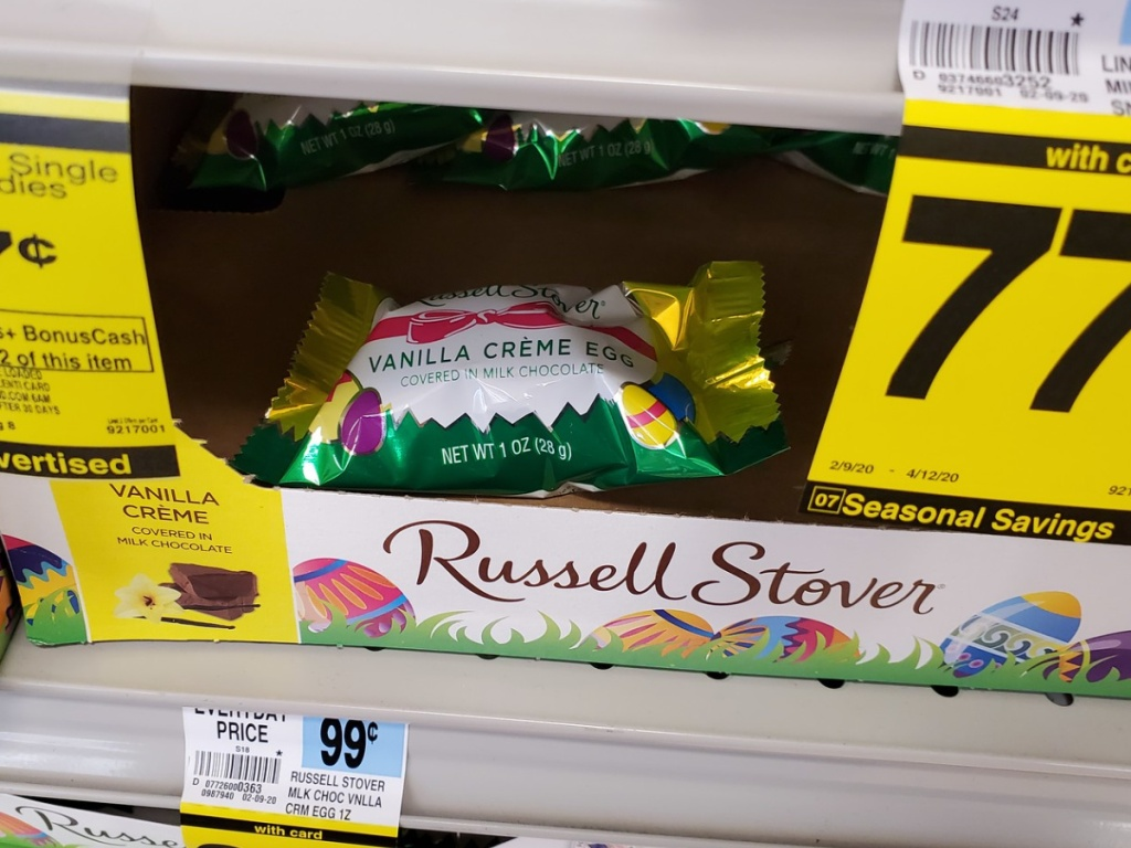 Rite Aid Russell Stover Easter Candies