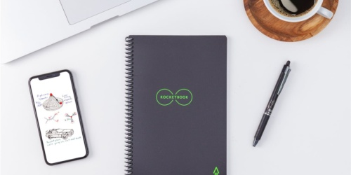 Rocketbook Smart Reusable Notebook 2-Pack w/ Pilot Frixion Pens Only $29.98 Shipped on Amazon