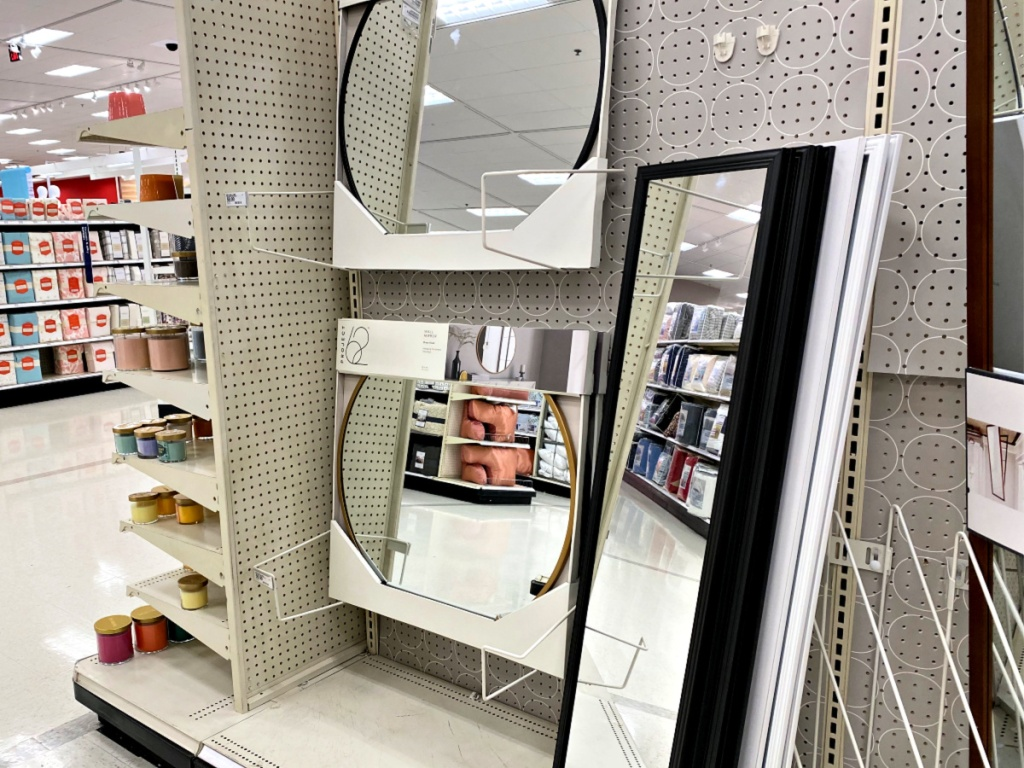 Round and Rectangle Mirror in Target