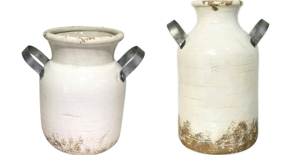 two SONOMA Goods for Life Milk Jugs