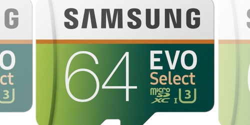 Three Samsung 64GB Micro SD Cards w/ Adapter Only $23.99 on Woot! (Just $7.99 Each)