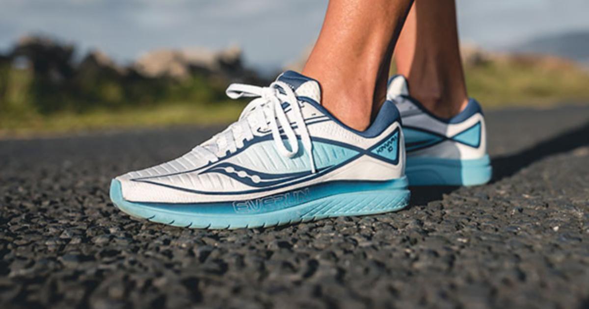 Blue women's sneakers