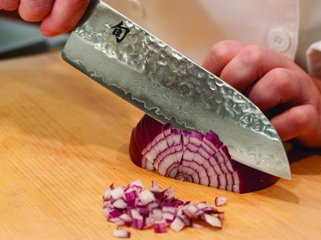 Shun Chef's Santoku Knife