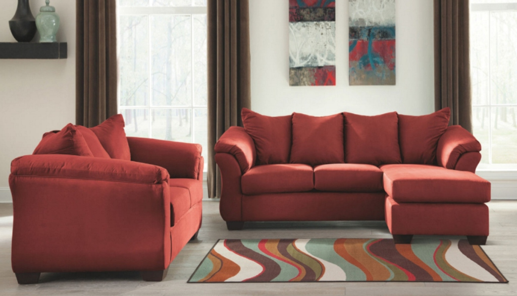 Signature Design by Ashley Audrey Sofa Sectional