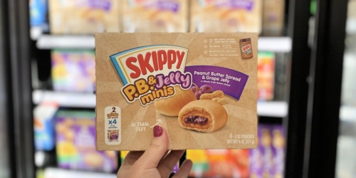Better Than FREE Skippy P.B. & Jelly Minis 4-Pack After Cash Back at Target