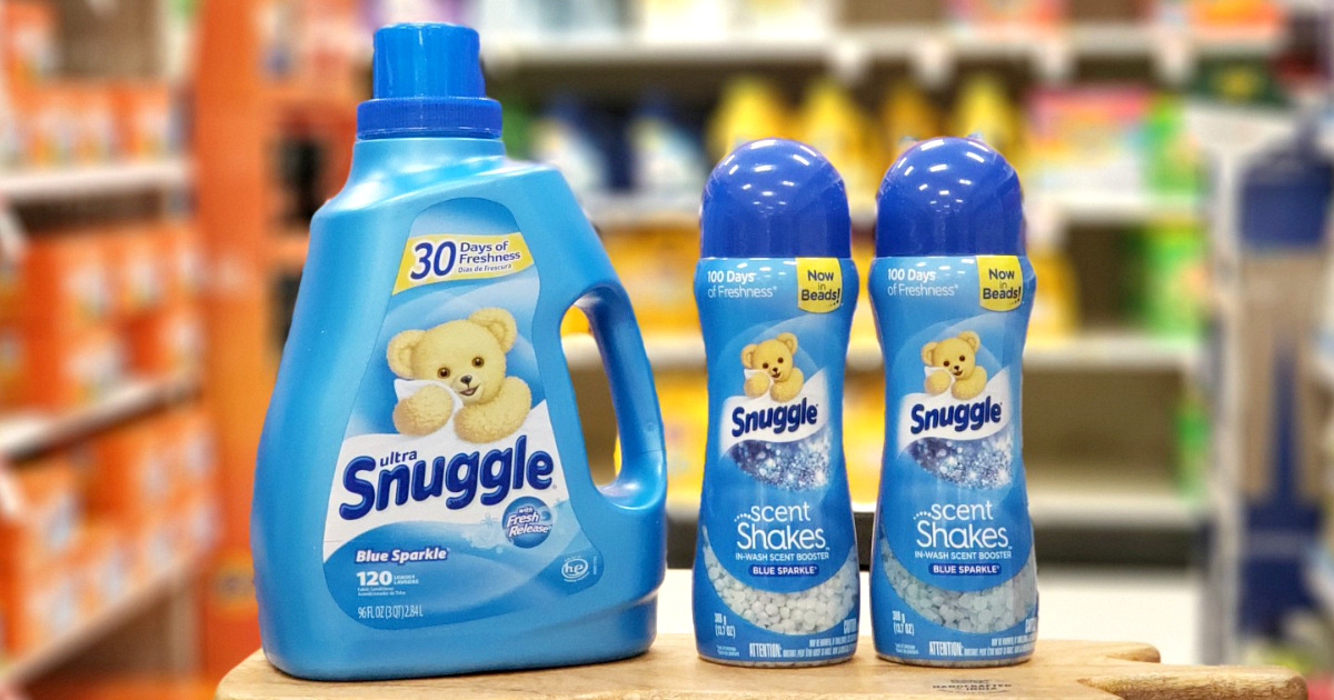 Snuggle fabric softener products