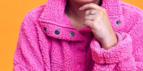 Aerie Oversized Sherpa Hoodies & Sweatshirts Only $25 (Regularly Up To $65)