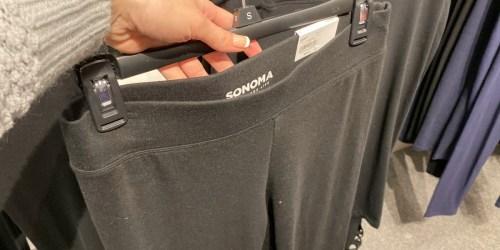 Women's Leggings from $5.99 (Regularly $20) | Free Shipping for Select Kohl's Cardholders