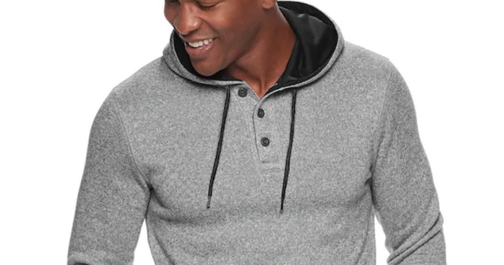 man wearing Sonoma Men's Sweater