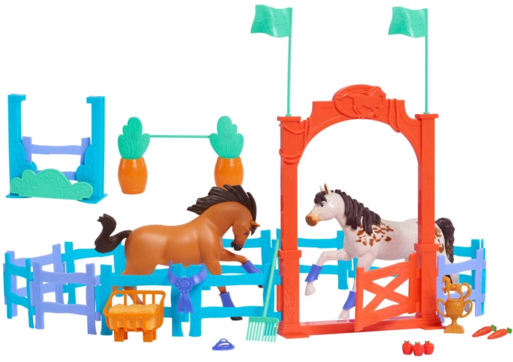 Spirit Riding Free Training Arena play set