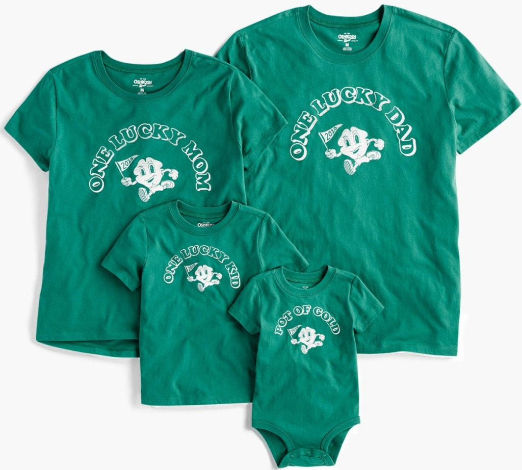Family St. Patrick's Day shirts