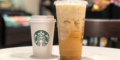 20% Off Starbucks Hot, Iced or Blended Beverages at Target
