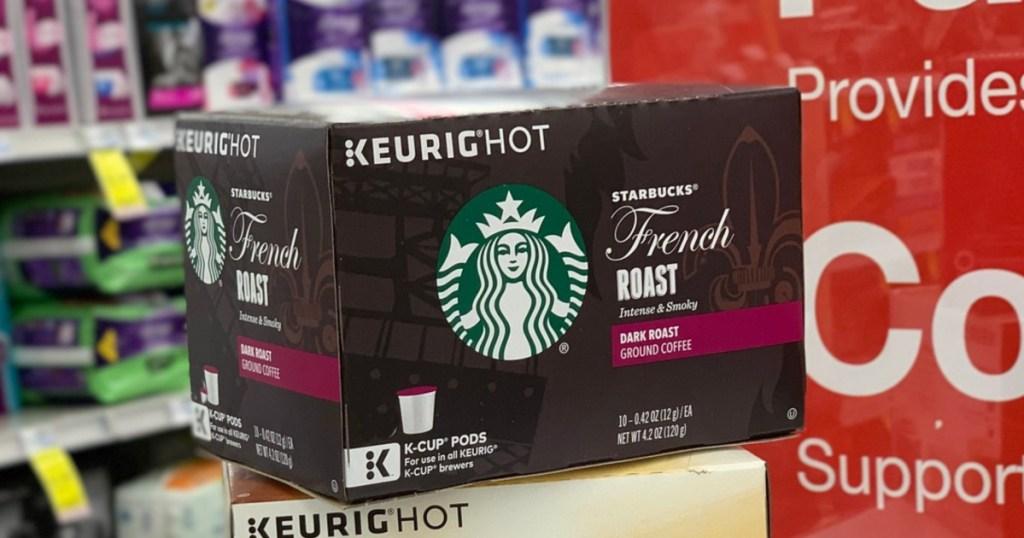 Starbucks coffee k-cups