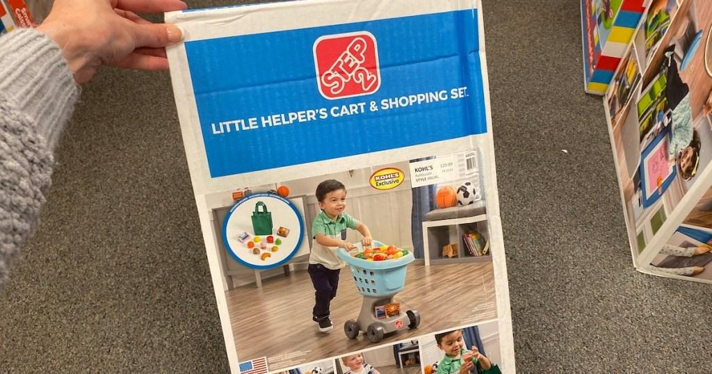 Step 2 shopping cart set