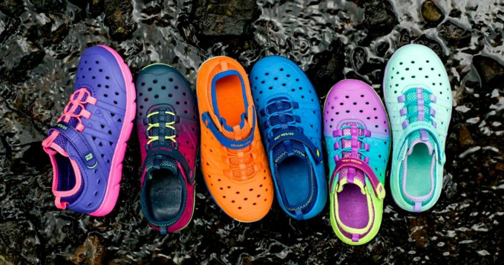 Stride Rite Phibian shoes in rocks