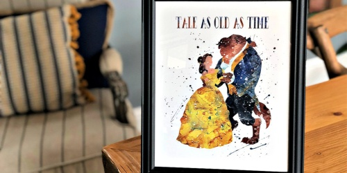 Disney Inspired LARGE Character Prints as Low as $7 Each Shipped | 11×14 or 12×16 Sizes