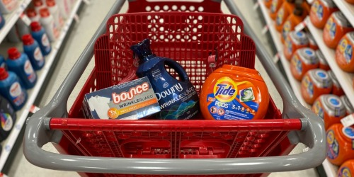 Free $10 Target Gift Card w/ Purchase of 3 Household Essential Items