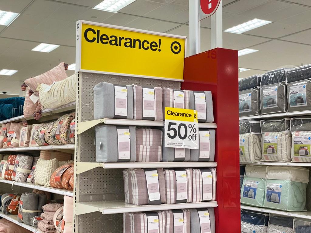 Target Sheet Sets clearance end cap