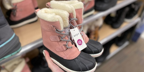 Up to 50% Off Boots for the Family on Target.com | Cat & Jack, Universal Thread & More