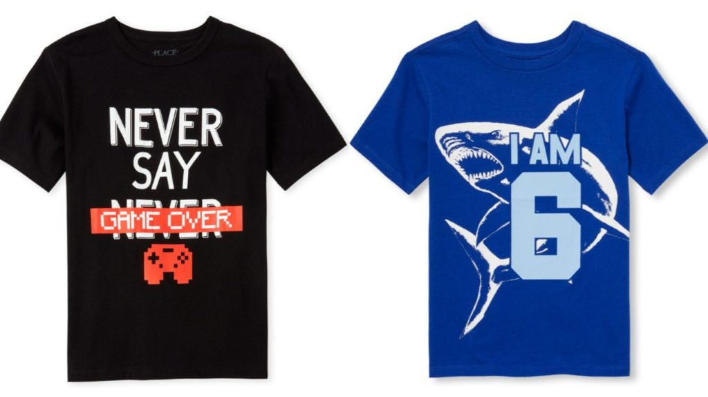 Two boys tees