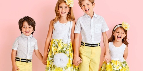 Up to 70% Off The Children's Place Easter Outfits + Free Shipping