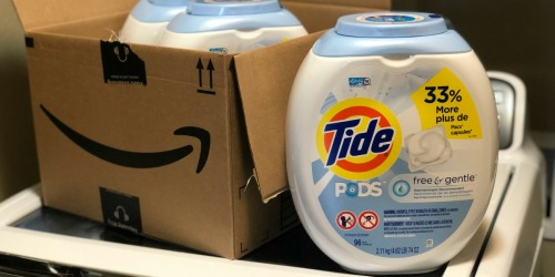 288 Tide Laundry Detergent PODS Only $46 Shipped on Amazon