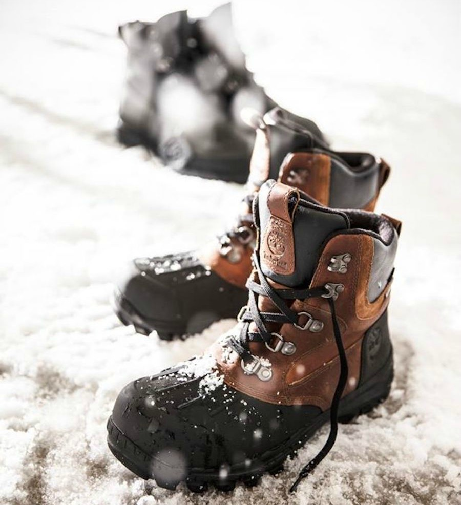 Timberland Chillberg boots shown in snow
