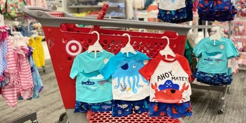Buy One, Get One 50% Off Kids Swimwear at Target
