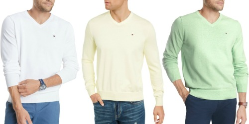Tommy Hilfiger Men's Sweater Just $17.85 on Macy's (Regularly $60)