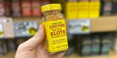 NEW Everything but the Elote Seasoning Blend Just $2.49 at Trader Joe's