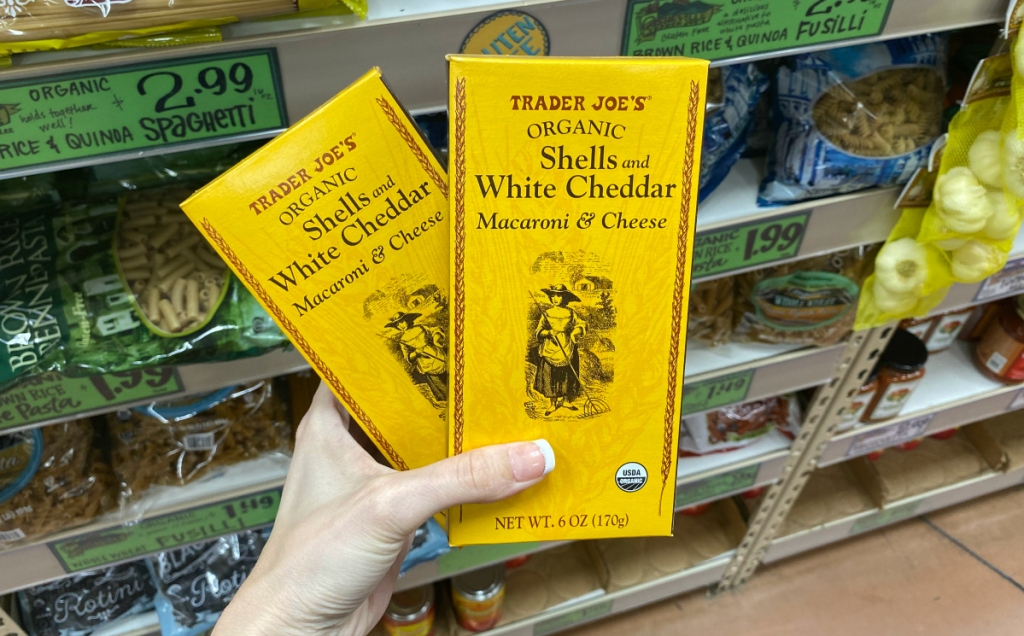 Trader Joe's mac and cheese