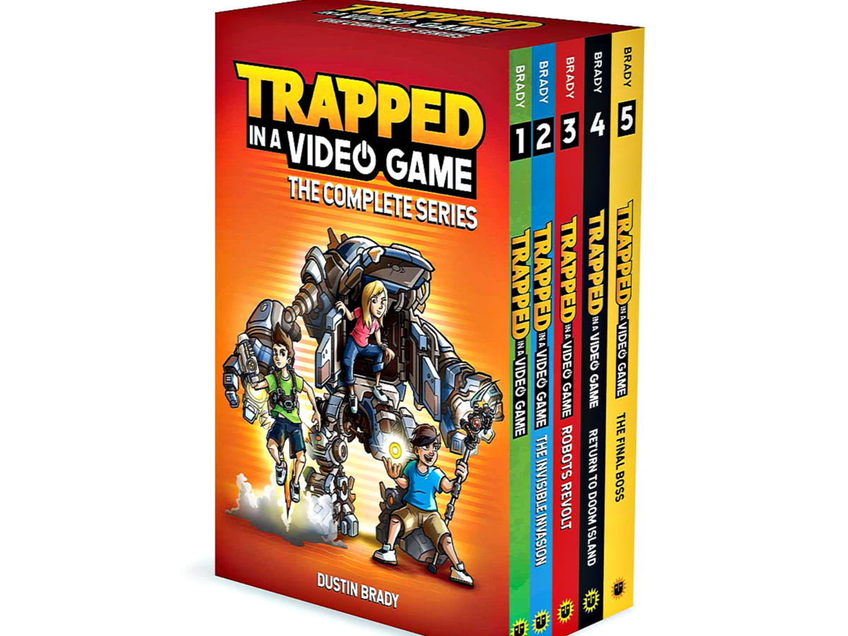 Trapped in a Video Game The Complete Series Set