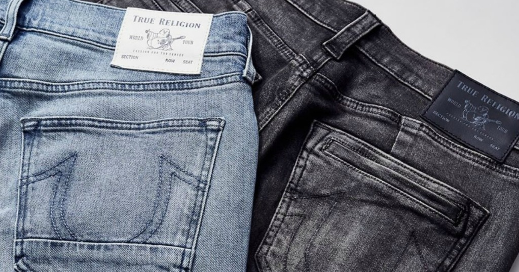 True Religion Jeans showing the pockets