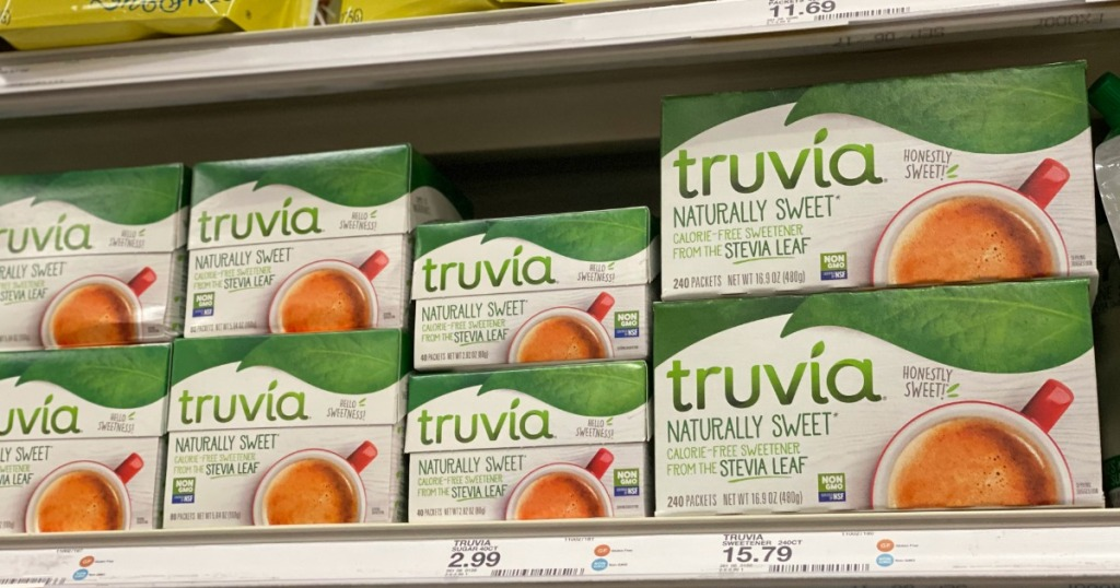 Truvia Sweetener on Target Shelf