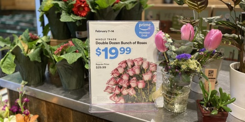 TWO Dozen Roses ONLY $19.99 at Whole Foods Market for Amazon Prime Members