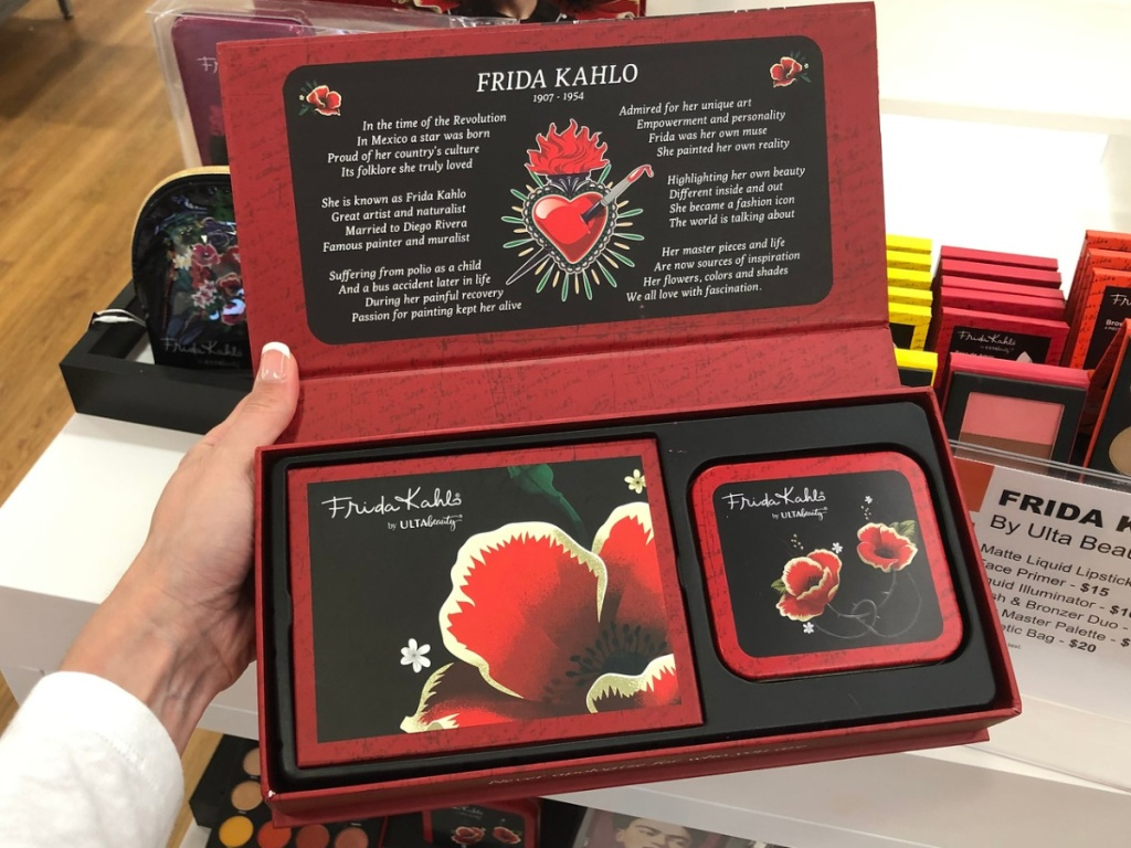 Frida Kahlo by Ulta Beauty Signature Box Open
