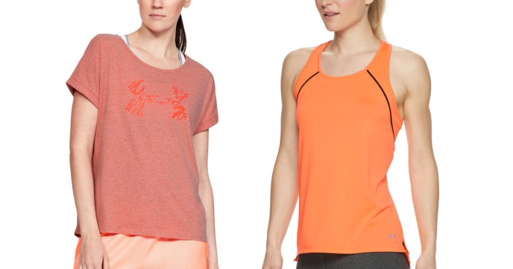 Under Armour Women's Tank and Tee