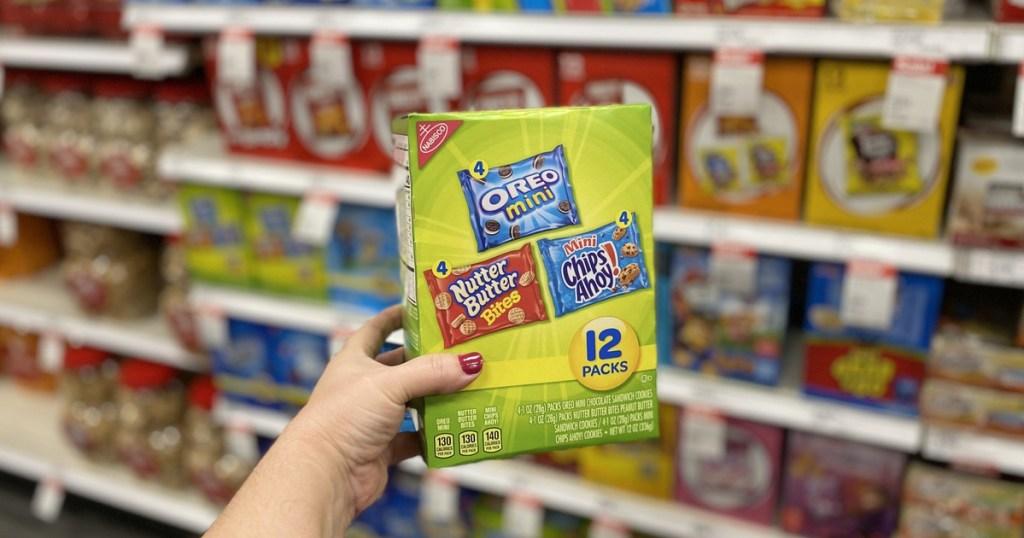 nabisco snacks in aisle