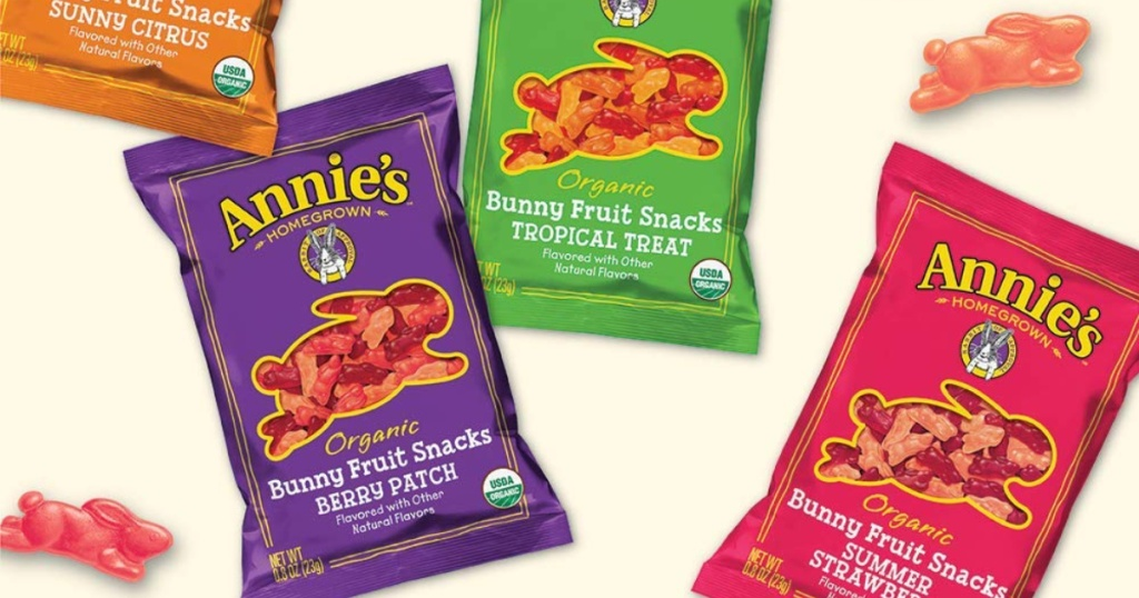 annies organic fruit snacks puches