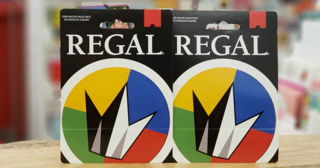 2 regal gift cards