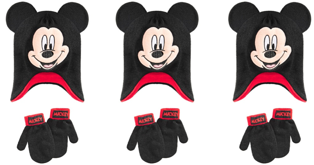 mickey mouse hate and gloves 3