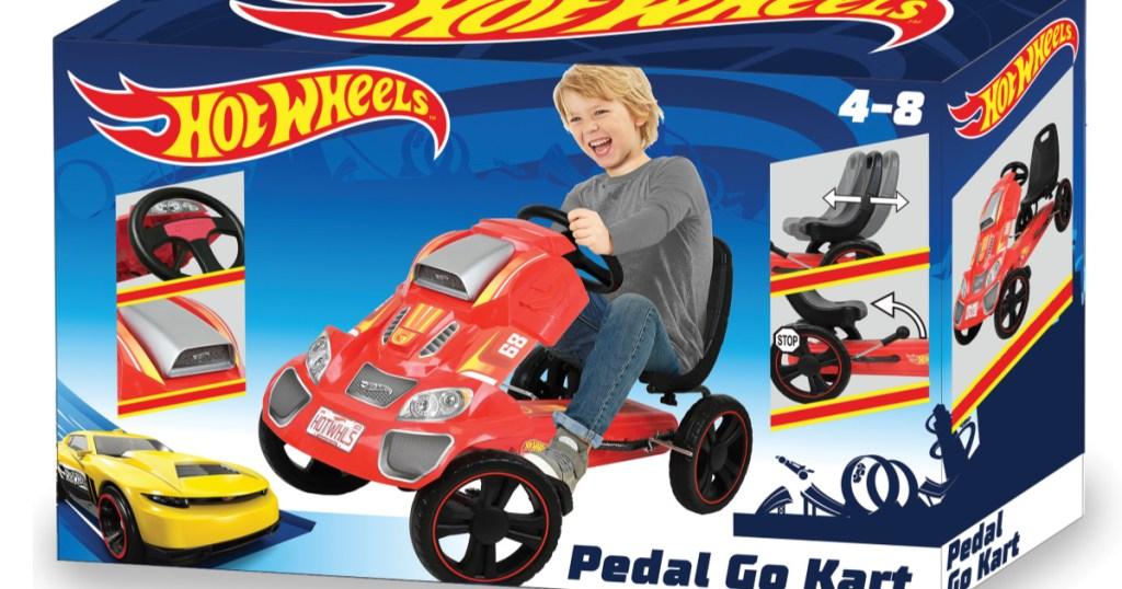 hot wheels go kart box
