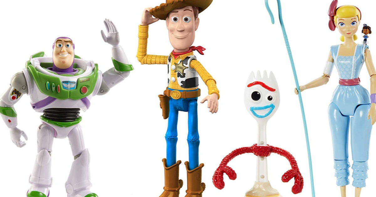 product display toy story 4 toys