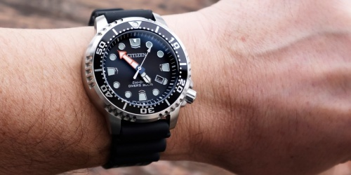 Citizen Men's Eco-Drive Diver Watch Only $88.99 Shipped on Amazon (Regularly $350)