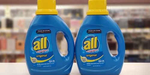 All Laundry Detergent Only $1.99 at Walgreens